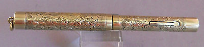 Wahl l4k Solid Gold ring top fountain pen--working