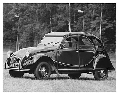 1981 Citroen 2CV Charleston Automobile Factory Photo ch8854
