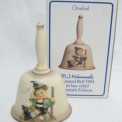 Goebel Hummel 1984 Bell HUM706 7th Edition with Box Mountaineer