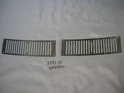 DATSUN 1200 Cowl Top Grille Stainless Steel (Fits Nissan B110 B120 Sunny Truck)