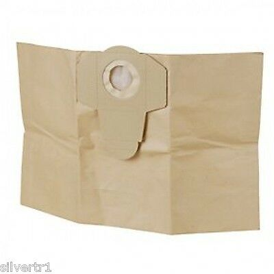 5 x Fox F50-800 30 Litre Wet & Dry Vac / Dust Extractor Bags - Buy 2 get 1 FREE