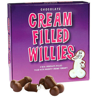 Cream Filled Chocolate Willies Adult Hen Do Party Secret Santa Christmas Gift