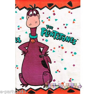FLINTSTONES VINTAGE 1996 DINO PAPER TABLE COVER (1) ~ Birthday Party Supplies