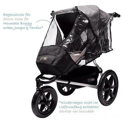 mountain buggy Urban Jungle Terrain Regenschutz Storm Cover