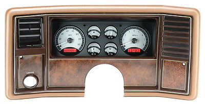 Dakota Digital 78 -88 Chevy Monte Carlo Analog Dash Gauge System VHX-78C-MC-S-R
