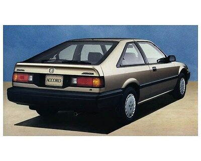 1988 Honda Accord Hatchback Automobile Photo Poster zca2555