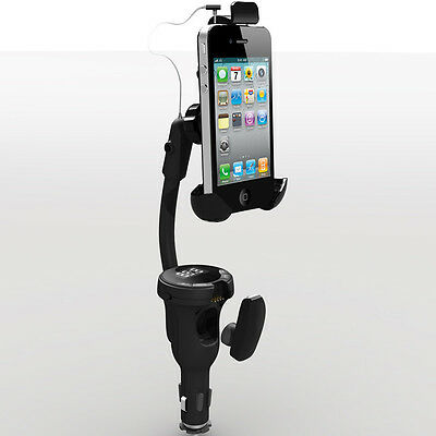 Smartphone Car Kit With Holder Fm Transmitter For Samsung Galaxy S4