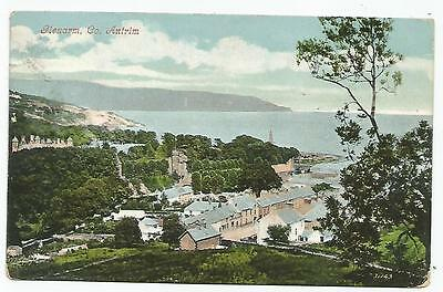 northern ireland postcard ulster irish antrim glenarm