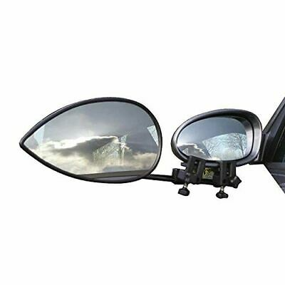 Milenco Aero Flat Mirrors - Twin Pack With Case Caravan Towing Trailer