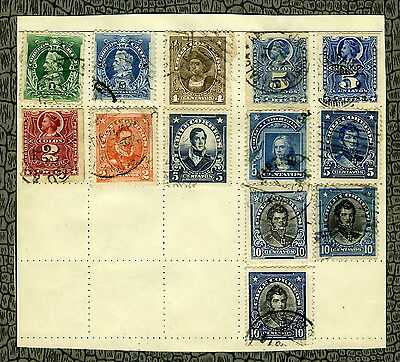 THIRTEEN Stamps ~ CHILE CHILEAN ~ Early