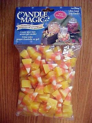 Lot Of 3 Bags Scented Candle Wax Accents Candy Corn $1.00 A Bag!!