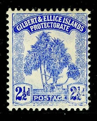 GILBERT & ELLICE ISLANDS SG11, 2½d blue, M MINT.