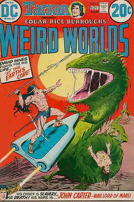 WEIRD WORLDS #2 VF, Joe Orlando, Infantino c., John Carter, DC Comics 1972