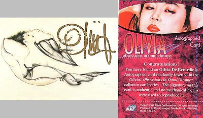 Olivia - Obsessions in Omnichrome Auto card