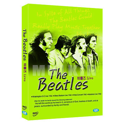 The Beatles - Live 4Concerts DVD (*New *Sealed *All Region)