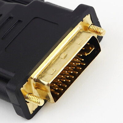 DVI Male to HDMI Female adapter Gold-Plated NEW M F Converter For HDTV LCD UF