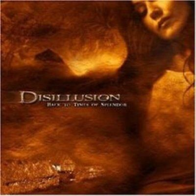 Disillusion - Back To Times Of Splendor CD NEU OVP
