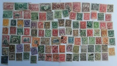 100 Different British Empire/Commonwealth George V issues only Stamp Collection