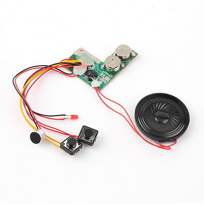 10sec Recordable Voice Module for Greeting Card Music Sound Talk chip musical UF