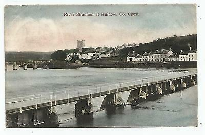 irish postcard ireland clare killaloe