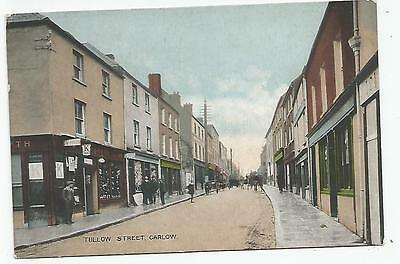 irish postcard ireland carlow tullow street
