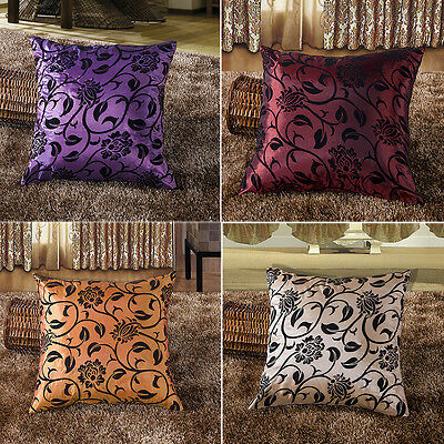FAD New Decorative Flower Soft Home Throw Pillow Cushion Cover Case Sofa Bed