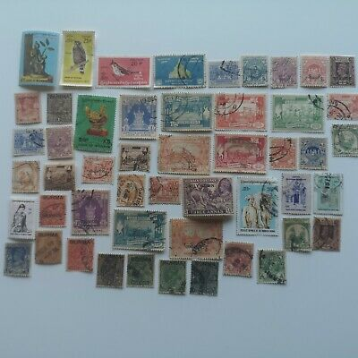 100 Different Burma and Myanmar Stamp Collection