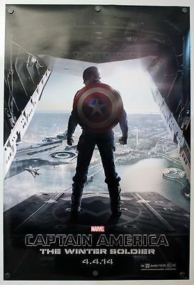 Captain America 2 Winter Soldier - original DS movie poster  D/S 27x40 Adv B
