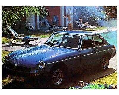 1980 MG MGBGT Automobile Photo Poster zca2747