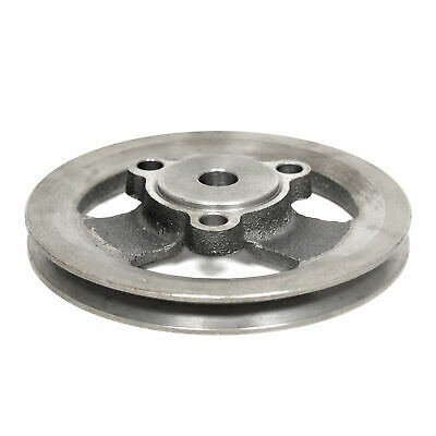 """65-67 Mustang Crankshaft Pulley w/AC or PS, 6 Cyl 200, Bolt-on (5 29/32"""" OD)"""