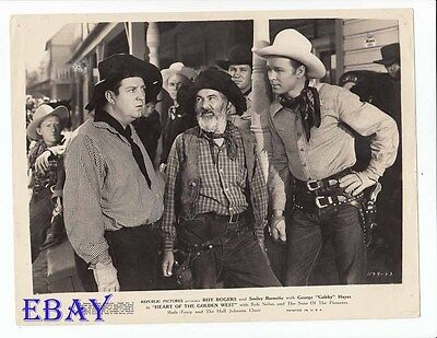 Roy Rogers Heart Of The Golden West VINTAGE Photo