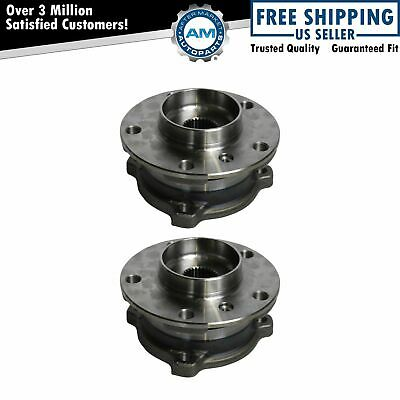 Wheel Bearing & Hub Assembly Front Driver Passenger Pair for BMW X5 X6 AWD