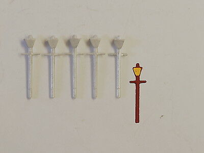P&D Marsh N Gauge n Scale B43 LMS Station lamps (5) castings require painting