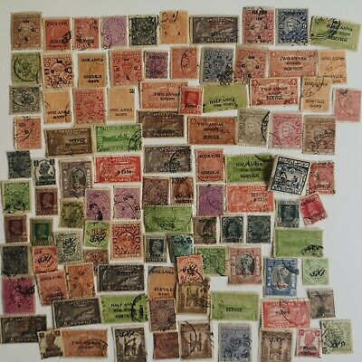 100 Different Indian States (no Nepal) Stamp Collection