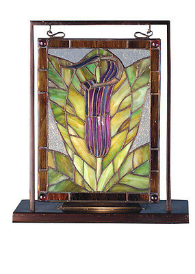 "Accessories 9.5""W X 10.5""H Jack-In-The-Pulpit Lighted Mini Tabletop Window"