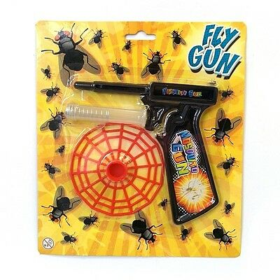 Fly Swatter Gun Boys Fun Toy Home Pest Control Mosquito Insect Repellent Swat