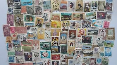 200 Different Nepal Stamp Collection