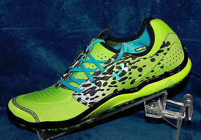 Mens Under Armour Micro G Toxic Six - 1235672-389