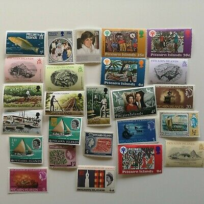 50 Different Pitcairn Island Stamp Collection