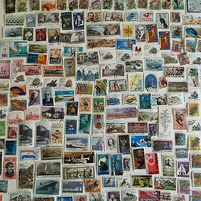 500 Different South Africa Stamp Collection