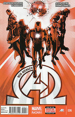 The New Avengers #6 (NM)`13 Hickman/ Epting