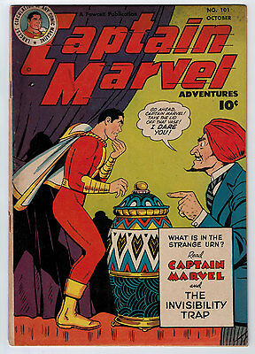 Captain Marvel Adventures #101 4.5 1949 Off-White To White Pages Golden Age