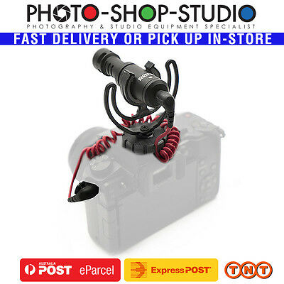 *Rode VMICRO VideoMicro Hypercardioid Microphone (On-Camera) *Authorised Dealer*