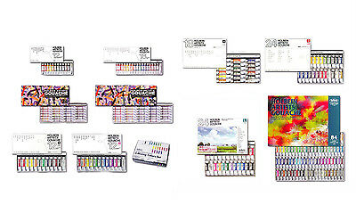 NEW Holbein Artist's Gouache Opaque Watercolor Set Free Shipping Japan Import
