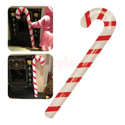 Inflatable Candy Cane Stick Big Blow Up Toy Boy Girl Christmas Stocking Filler