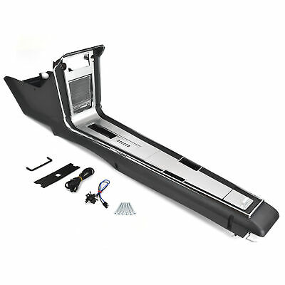 ACP 67 Mustang Console Assembly, Auto, Coupe/Fastback (Convertible cut-to-fit)