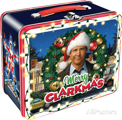 National Lampoon's Christmas Vacation Lunch Box Metal Collectible - 8x7