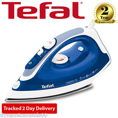 Tefal Maestro FV3770 Anti-Scale Stainless Steel 2300Watt Steam Iron in Blue