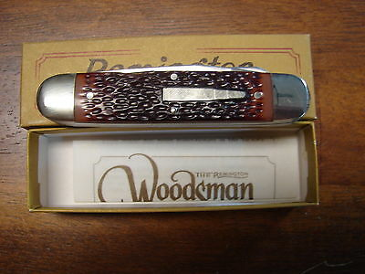 Vintage 1985 Remington Woodsman Bullet Knife R4353 New in Box Made in USA