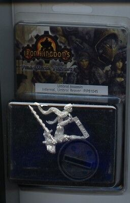 Iron Kingdom Umbral Assassin Infernal Umbral Reaver MINT